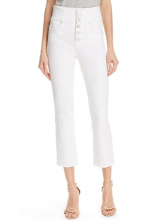 Joie Laurelle High Waist Crop Jeans
