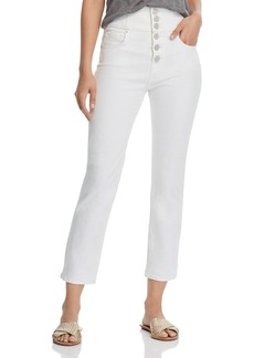 Joie Laurelle Straight Jeans in Porcelain