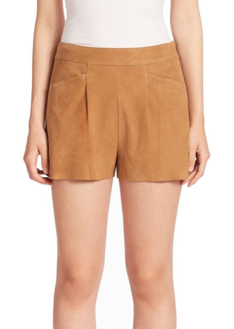 Joie Lautaro Suede Shorts