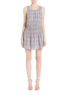 Joie Lawska Python Print Dress
