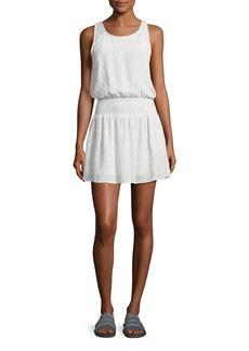 Joie Lawska Sleeveless Silk Dress