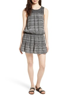 Joie Leilou Silk Blouson Dress