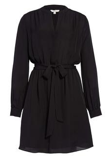 Joie Lenore Long Sleeve Silk Shirtdress
