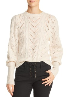 Joie Leti Pointelle Sweater