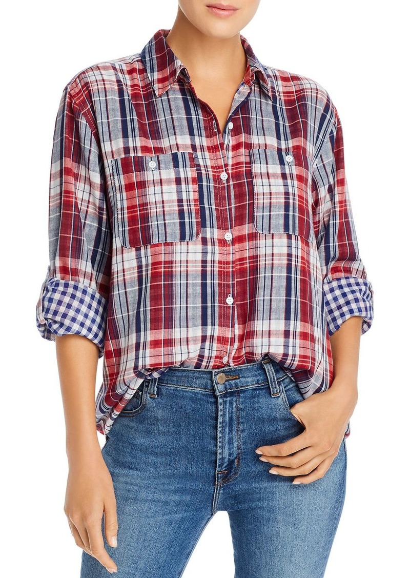 Joie Lidelle Plaid Shirt - 100% Exclusive