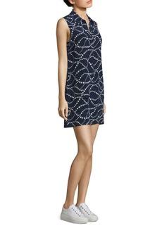 Joie Lucida Star Swirl Silk Dress