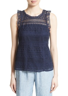 Joie Lupe Lace Tank