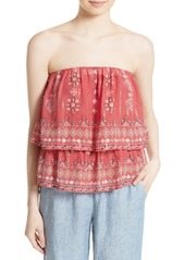Joie Lyana Tiered Strapless Top