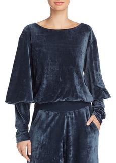Joie Lyndell Velvet Sweatshirt