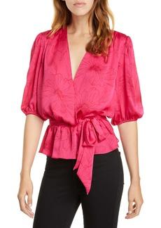 Joie Macie Floral Wrap Top