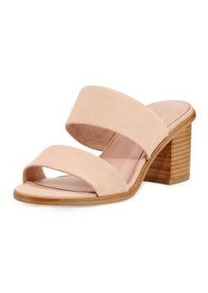 Joie Maha Nubuck 70mm Mule Sandal