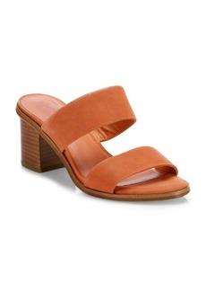 Joie Maha Nubuck Mid Block Heel Slides