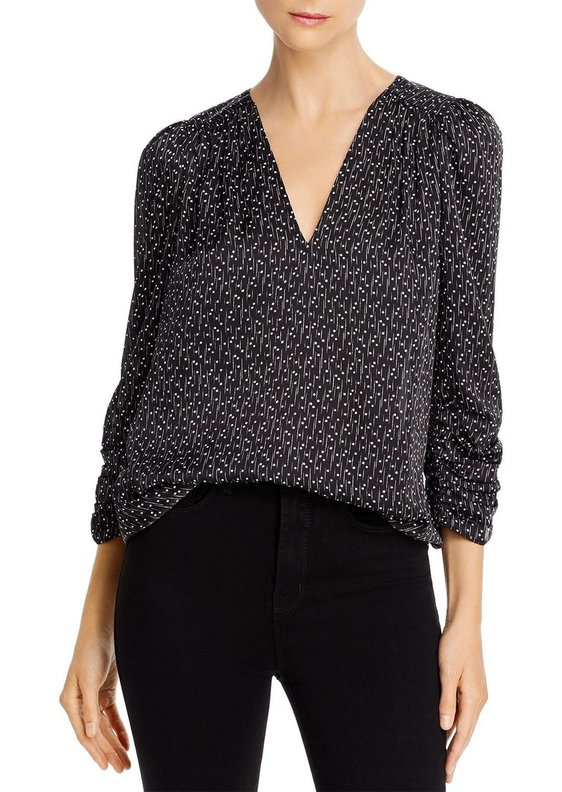 Joie Maizie V-Neck Star-Print Top