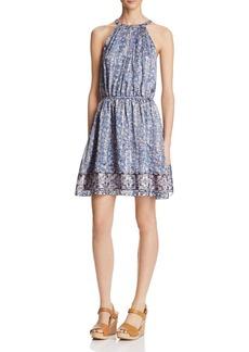 Joie Makana D Floral Print Silk Dress