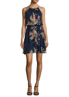 Joie Makana E Floral-Printed Silk Dress