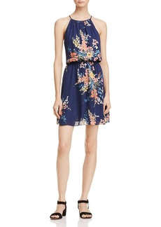Joie Makana Floral Print Silk Dress