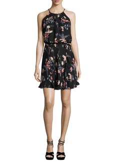 Joie Makana Floral-Print Sleeveless Dress