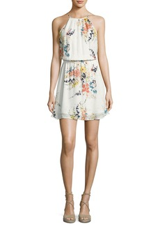 Joie Makana Silk Floral Mini Dress