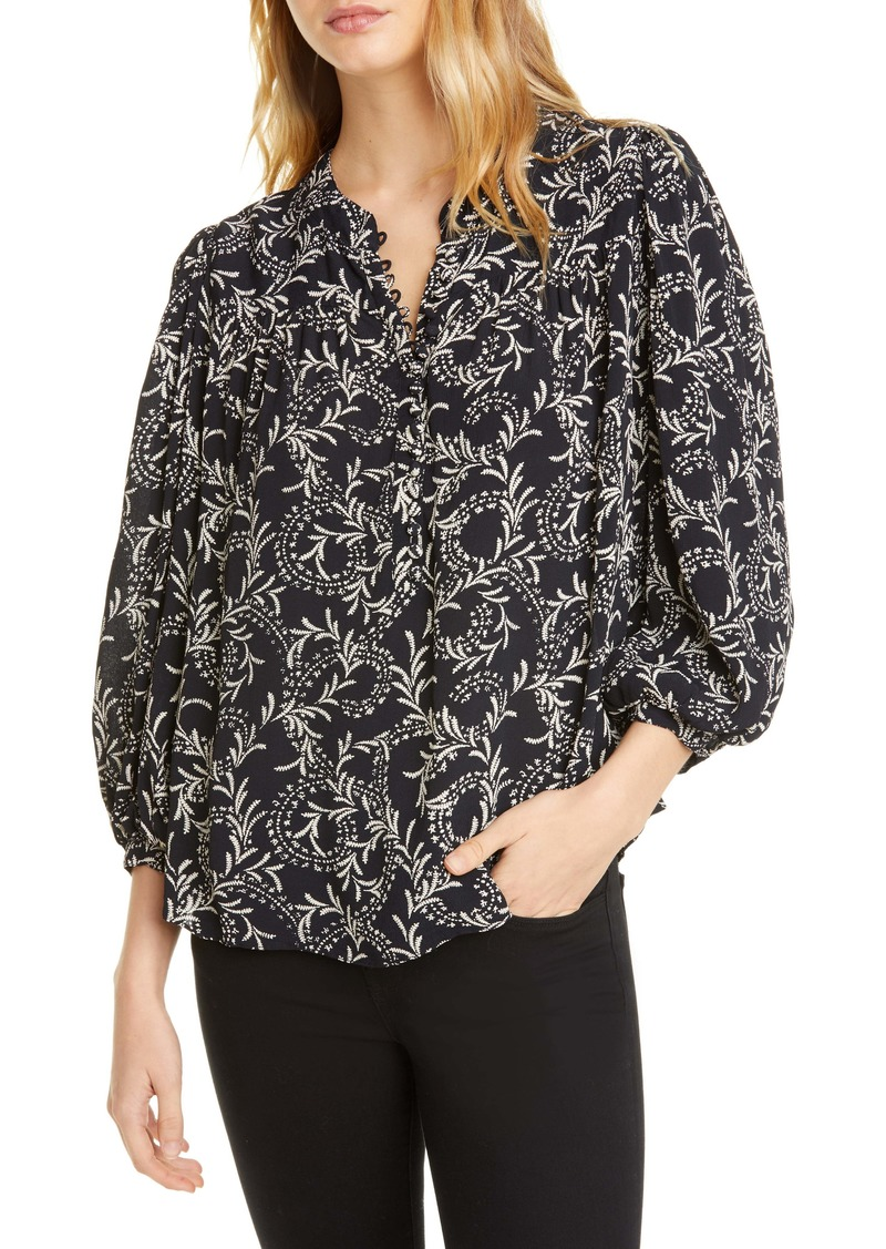 Joie Maleah Printed Blouse