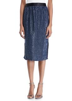 Joie Malloren Sequin Midi Skirt
