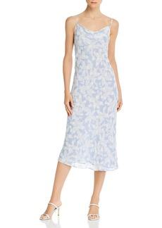 Joie Marcenna B Floral Print Cowl Neck Dress - 100% Exclusive
