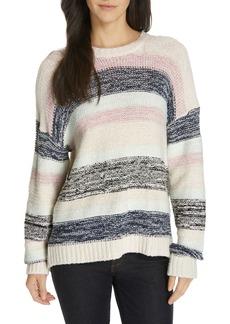 Joie Marelda Stripe Oversize Sweater