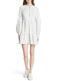 Joie Marison Stripe A-Line Dress