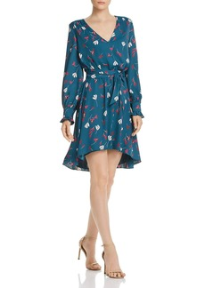 Joie Marlayne Floral-Print High/Low Dress