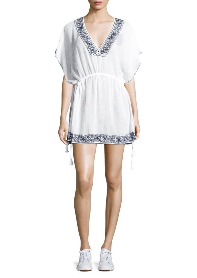 Joie Marlene Crepe Cotton Dress