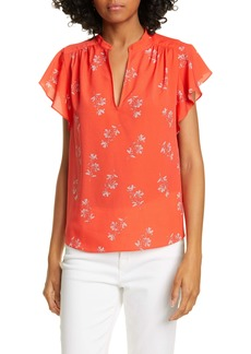 Joie Marlina Cap Sleeve Floral Top