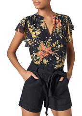 Joie Marlina Floral Print Top