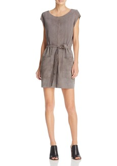 Joie Maroone Suede Dress