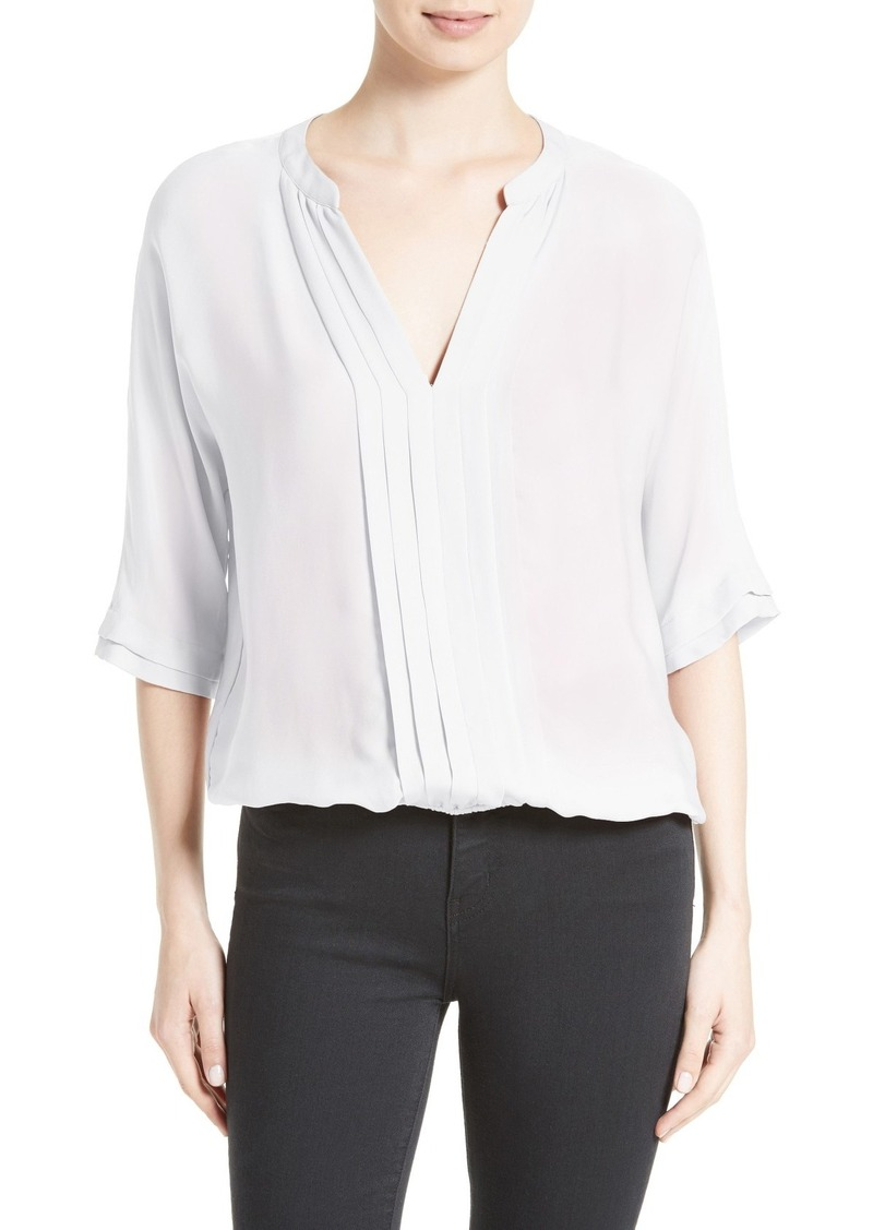 Joie 'Marru' Semi-Sheer Silk Blouse
