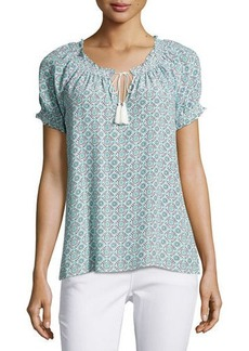 Joie Masha Medallion-Print Top