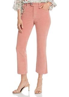 Joie Maza Cropped Corduroy Pants