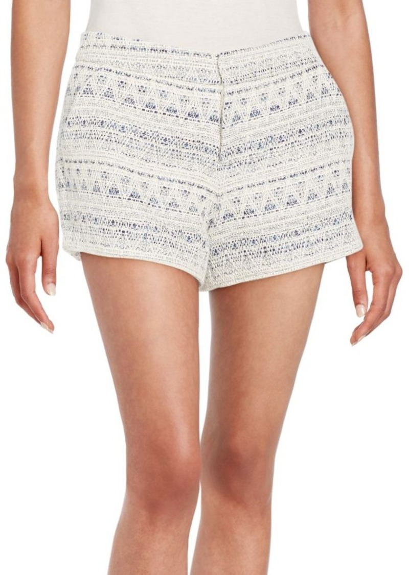 Joie Merci Jacquard Knit Shorts