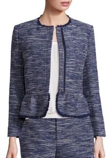 Joie Milligan Metallic Tweed Jacket