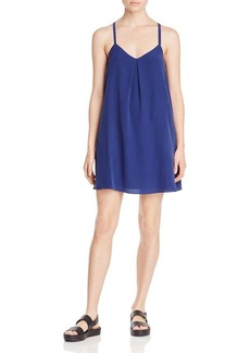 Joie Mitsou Silk Racer Back Swing Dress