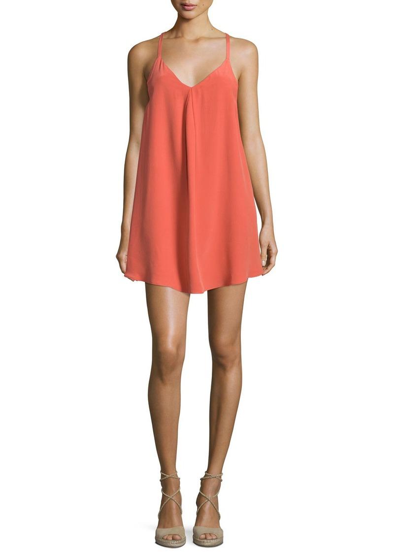Joie Mitsou Sleeveless Silk Slip Dress