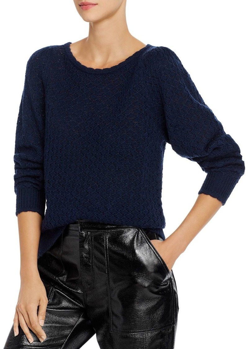 Joie Moxya Open-Knit Sweater