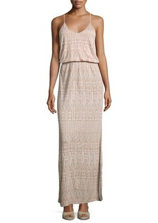 Joie Nahia Printed Blouson Maxi Dress