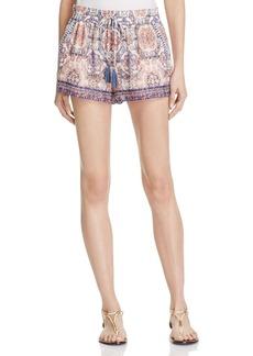 Joie Nami Silk Print Shorts