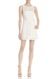 Joie Nawra Crochet Mini Dress