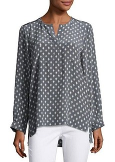 Joie Nepal Printed Silk Top