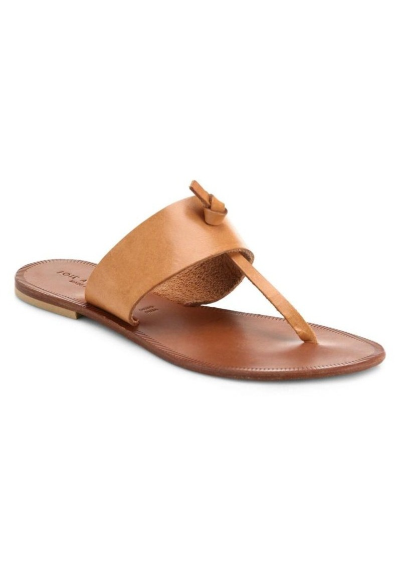 Joie Nice Leather Thong Sandals