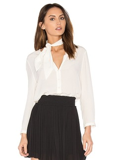 Joie Nile Button Up in White. - size L (also in S,XS,M)