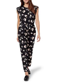 Joie Noleen Floral Print Jumpsuit
