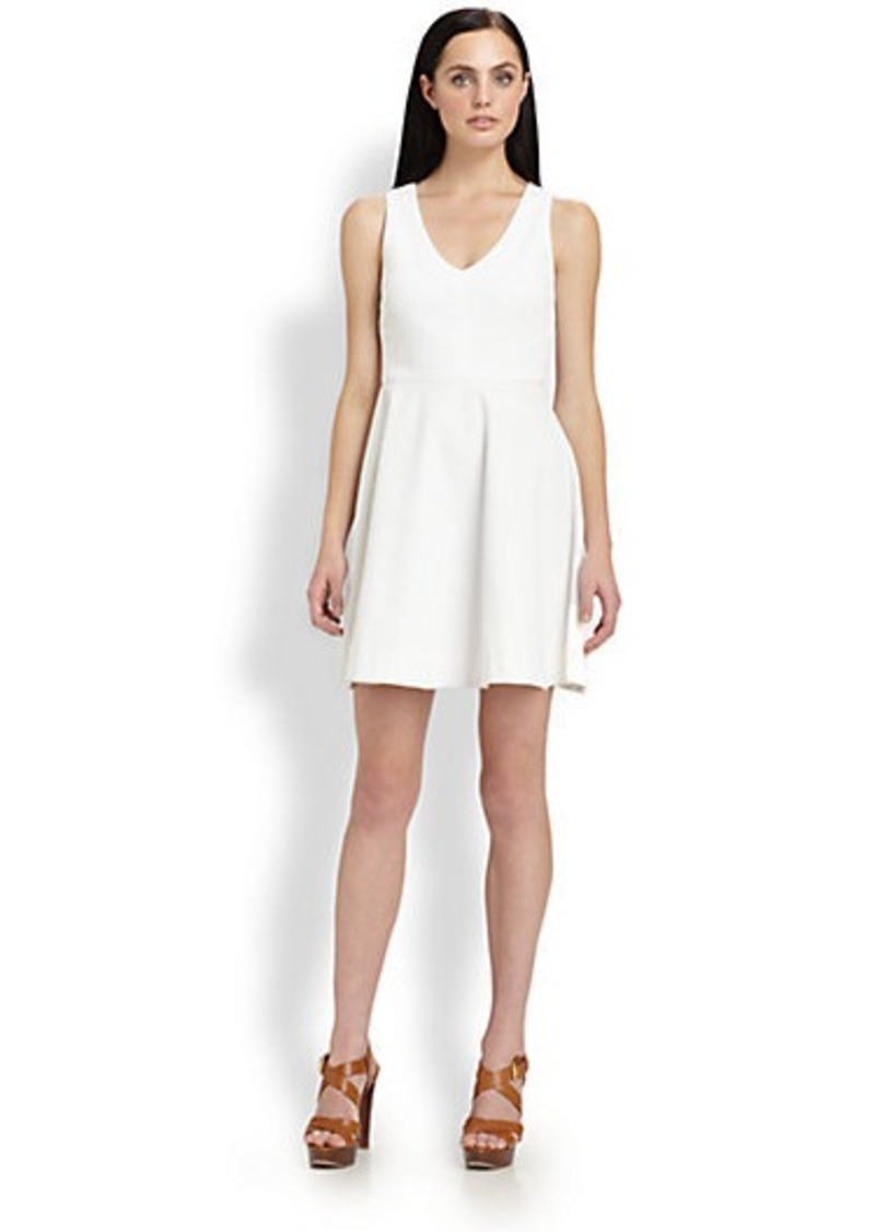 Joie Norton Fit-&-Flare Dress