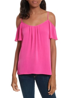 Joie Off the Shoulder Silk Top