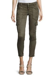 Joie Okana Skinny Cargo Pants  Fatigue